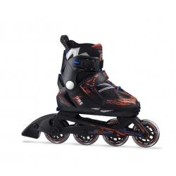 Detské kolieskové korčule FILA SKATES-X-ONE BLACK/RED