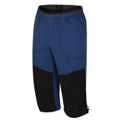 Pánské turistické 3/4 kalhoty HANNAH-HUG-Ensign blue / anthracite