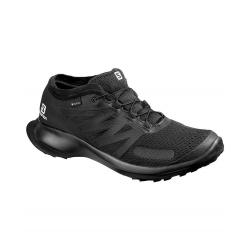 Pánska trailová obuv SALOMON-Sense Flow GTX black/black/black