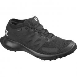 Pánska trailová obuv SALOMON-Sense Flow GTX black/black/black (EX)