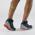 Pánska trailová obuv SALOMON-Sense Ride 3 GTX invis bleu/cherry -