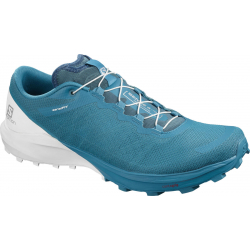 Pánska trailová obuv SALOMON-Sense 4 Pro fjord blue/white/icy morn