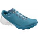 Pánska trailová obuv SALOMON-Sense 4 Pro fjord blue/white/icy morn -
