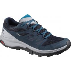 Pánska turistická obuv nízka SALOMON-OUTline GTX navy blaze/quarry/lyons