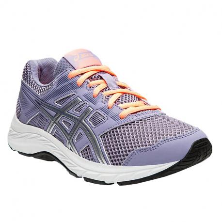 Juniorská športová obuv (tréningová) ASICS-Gel Contend 5 GS ash rock/silver