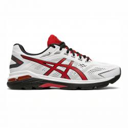 Pánska bežecká obuv ASICS-GT-2000 7 white/speed red