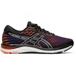 Pánská běžecká obuv ASICS-Gel Cumulus 21 black / flash korálové (EX)