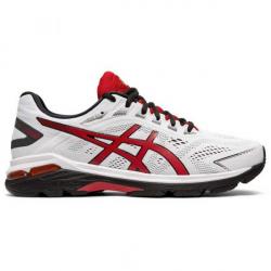 Pánska bežecká obuv ASICS-GT-2000 7 white/speed red (EX)