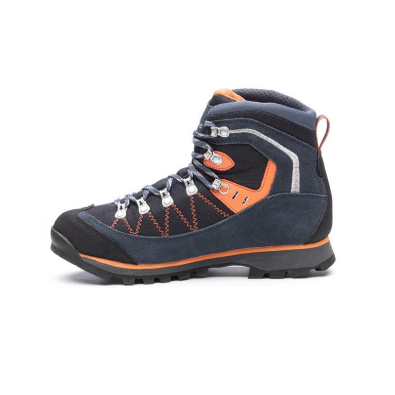 Pánska turistická obuv vysoká KAYLAND-PLUME MICRO GTX BLUE ORANGE -