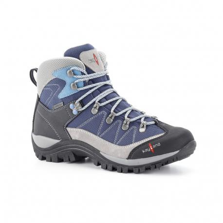 Dámska turistická obuv stredná KAYLAND-ASCENT K WS GTX GREY AZURE