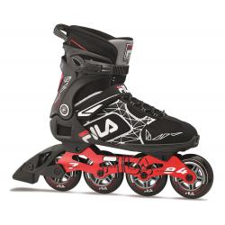 Fitness kolieskové korčule FILA SKATES-LEGACY PRO 84 BLACK/RED