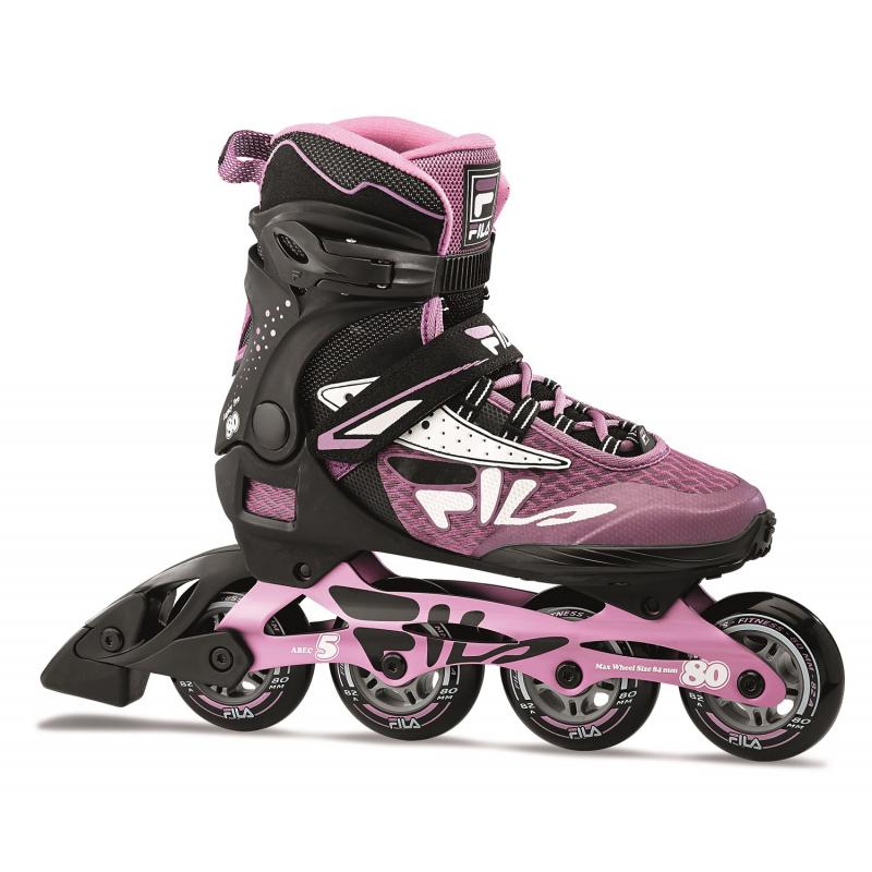 Dámske fitness kolieskové korčule FILA SKATES-LEGACY PRO 80 LADY BLCK/VIOLET -