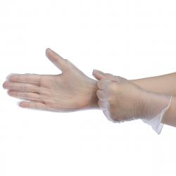 Ochranné rukavice EXISPORT-PVC rukavice (100ks balenie)