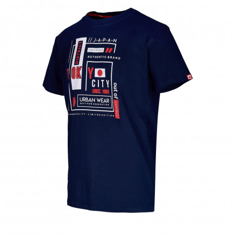 Pánske tričko s krátkym rukávom AUTHORITY-ARTEONY dk blue