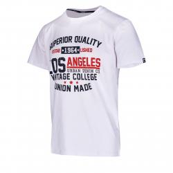 Pánske tričko s krátkym rukávom AUTHORITY-ARTEONY white
