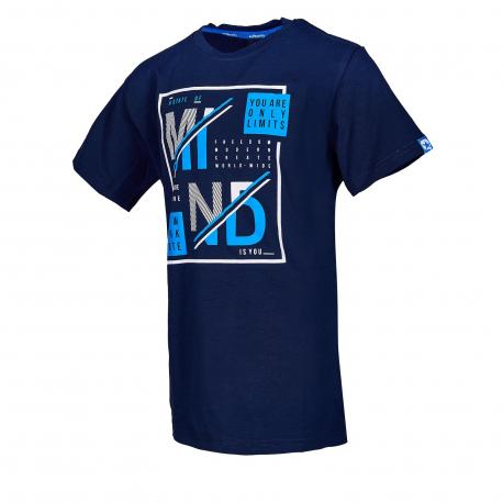 Detské tričko s krátkym rukávom AUTHORITY KIDS-ARTEONY B dk blue