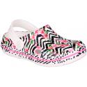 Detské kroksy (rekreačná obuv) COQUI-Lindo white flamingo -