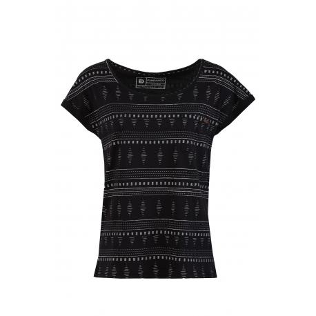 Dámske tričko s krátkym rukávom FUNDANGO-Melba-893-raven