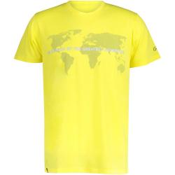 Pánske turistické tričko s krátkym rukávom FIVE SEASONS-ALTE TOP M-CITRON MELANGE