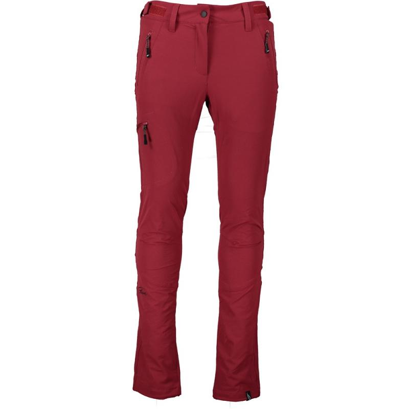 Dámske turistické nohavice FIVE SEASONS-LARISSA PNT W-DRY RED -