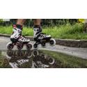 Fitness kolieskové korčule FILA SKATES-GHIBLI VERSO BLACK/WHITE/RED -