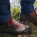 Pánska turistická obuv stredná TREZETA-FLOW EVO WP MID WALNUT -