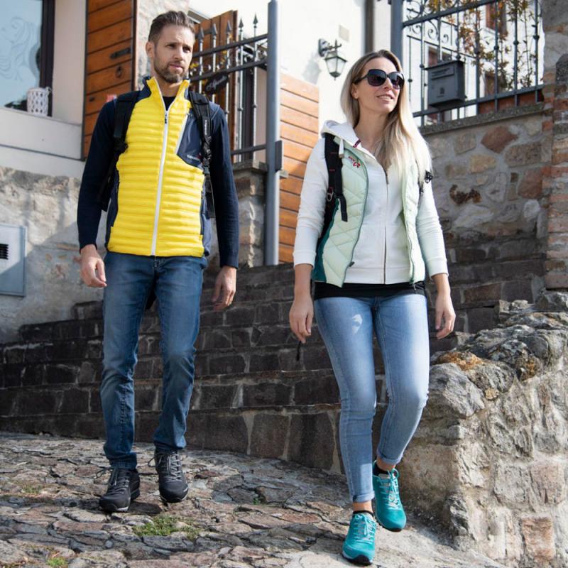 Pánska turistická obuv nízka TREZETA-Flow Evo WP grey/anthracite -