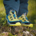 Detská turistická obuv stredná TREZETA-TWISTER WP KID PETROL GREEN -