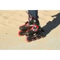 Dětské kolečkové brusle FILA SKATES-J-ONE BLACK / RED - Dětské in-line brusle značky Fila.