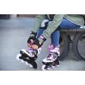 Detské kolieskové korčule FILA SKATES-J-ONE G BLACK/WHT/MAGENTA -