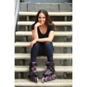 Dámske kolieskové korčule FILA SKATES-MADAME HOUDINI BLACK/VIOLET -