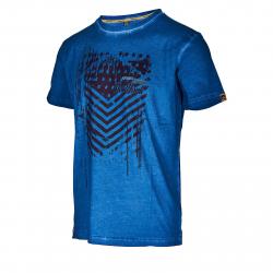 Pánske tričko s krátkym rukávom AUTHORITY-TAMER blue