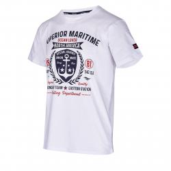Pánske tričko s krátkym rukávom AUTHORITY-SAILONERY white