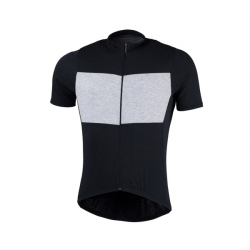 Pánský cyklistický dres s krátkým rukávem NORTHFINDER-Judah Black