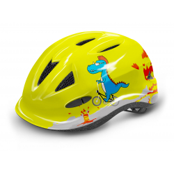 Detská cyklistická prilba R2-LUCKY Yellow