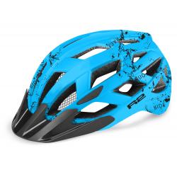Juniorská cyklistická prilba R2-LUMEN JUNIOR Blue 2020