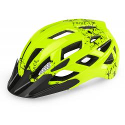 Juniorská cyklistická prilba R2-LUMEN JUNIOR Green 2020