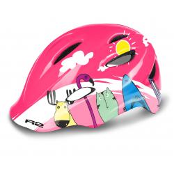 Detská cyklistická prilba R2-DUCKY Pink