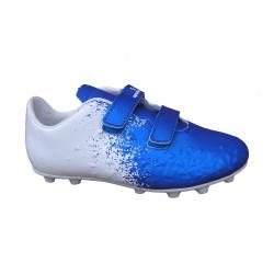 Detské futbalové kopačky outdoorové LANCAST-Warriors K FG blue/white