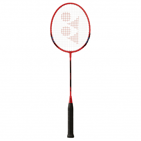 Badmintonová raketa pro začátečníky YONEX-B4000 red / black
