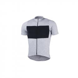 Pánsky cyklistický dres s krátkym rukávom NORTHFINDER-JUDAH Grey
