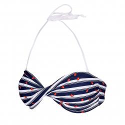 Dámske plavky vrchný diel AUTHORITY-PLAMESY TOP_DS dk blue