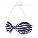 Dámske plavky vrchný diel AUTHORITY-PLAMESY TOP_DS dk blue -
