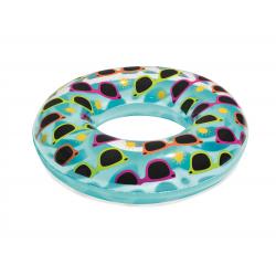 Plavací nafukovací kolo BESTWAY-Designer Swim Ring - 76cm