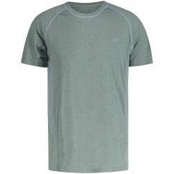 Pánské turistické tričko s krátkým rukávem FIVE SEASONS-Anwar TOP M-LEAD MELANGE