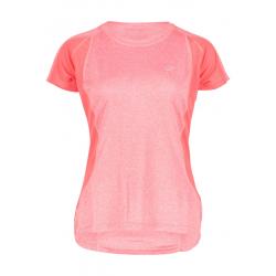Dámske turistické tričko s krátkym rukávom FIVE SEASONS-AYA TOP W-TEABERRY MELANGE