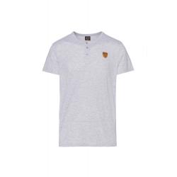 Pánske tričko s krátkym rukávom SAM73-Mens T-shirt s short sleeve-MT 763 401-Grey