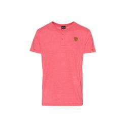 Pánske tričko s krátkym rukávom SAM73-Mens T-shirt s short sleeve-MT 763 135-Red