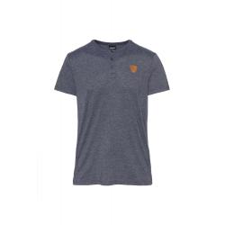 Pánske tričko s krátkym rukávom SAM73-Mens T-shirt s short sleeve-MT 763 240-Blue