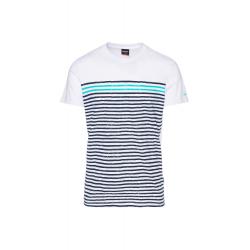 Pánske tričko s krátkym rukávom SAM73-Mens T-shirt s short sleeve-MT 765 000-White